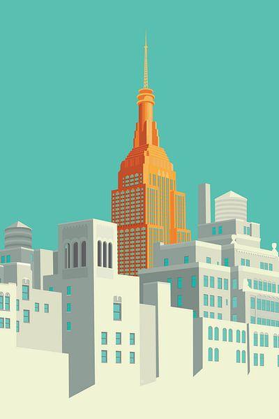 View from the Highline NYC van Remko Heemskerk