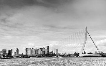 Rotterdam zwart wit van Patrick Herzberg