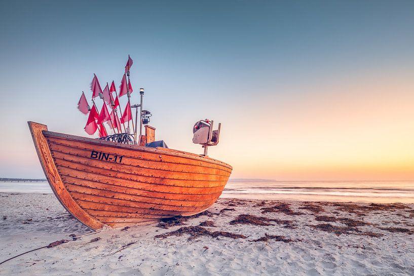 Letztes Fischerboot BIN-11 (Binz / Rügen) van Dirk Wiemer