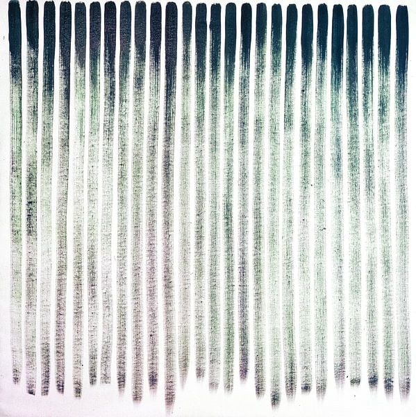 Drooglopend Vertikaal 1975 van Antonie van Gelder Beeldend kunstenaar