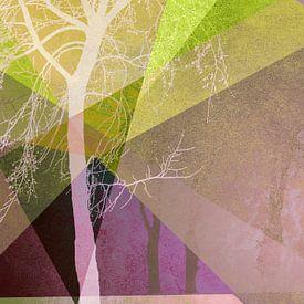 P22 TREES AND TRIANGLES von Pia Schneider