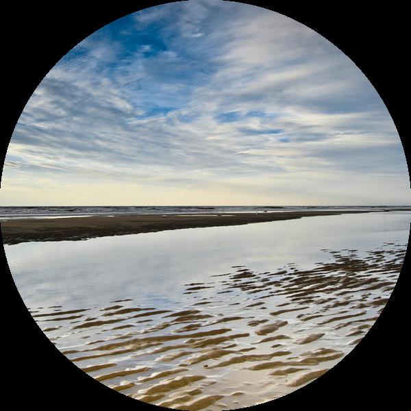 Structuren van de Wassenaarse kustlijn van Ricardo Bouman