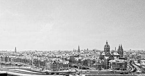 Skyline Amsterdam van