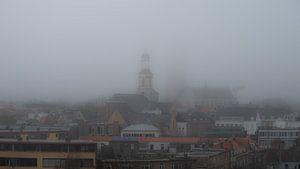 Breda - Grote Kerk in de mist van I Love Breda