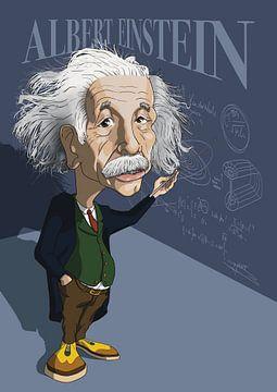 Albert Einstein van NoëlArts