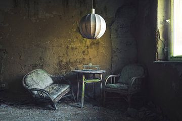 un vieux siège sur Kristof Ven