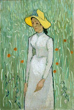 Meisje in Wit, Vincent van Gogh van