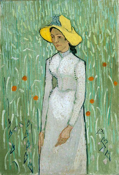 Meisje in Wit, Vincent van Gogh