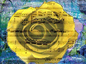 bloemige noten van Gertrud Scheffler