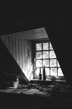 Urbex schwarz-weiß von Kim Schröder