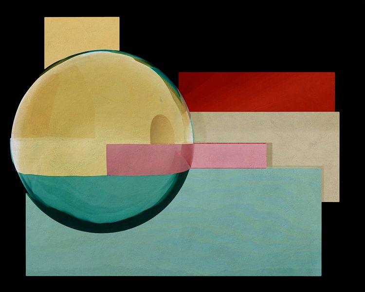Constructivisme schilderij nummer 1 van Jan Keteleer