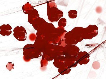 The Locusts red van Judith Robben