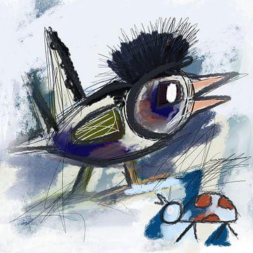 Freiheit eines Vogels von Nicole Habets