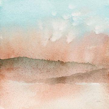 Woestijn landschap i, Katrina Pete van Wild Apple