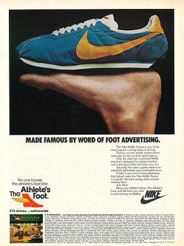 Vintage advertentie 1979 THE ATHLETE'S FOOT van Jaap Ros