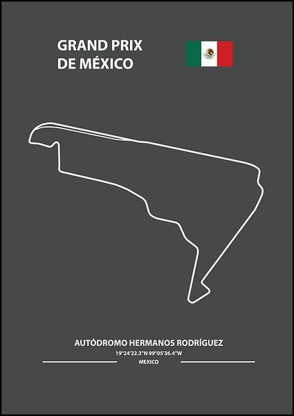 GRAND PRIX DE MÉXICO | Formula 1 von Niels Jaeqx