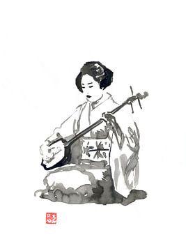 shamisen sur philippe imbert