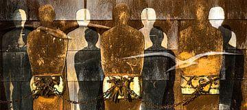 gevangen en vrijheid (kleur) sur Jaap van Lenthe