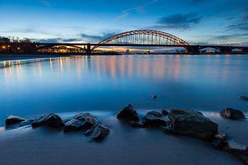De bruggen van Nijmegen over de Waal van Jeroen Savelkouls Fotografie