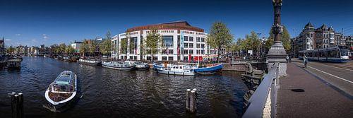 Stopera Amsterdam panorama van