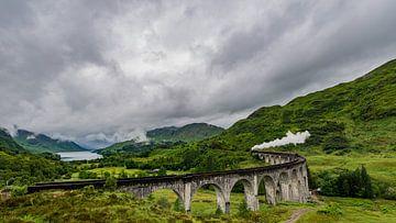 Hogwarts Express, Glenn Finan.  Schottland von Lex van Doorn