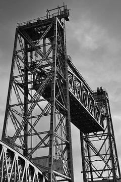 Die Hubbrücke in Rotterdam von Rob Pols