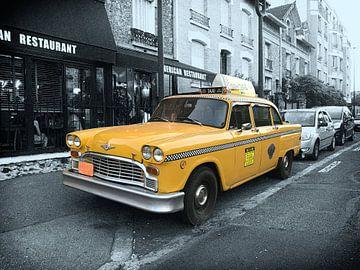 Yellow Cab van Rene van Heerdt