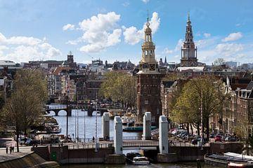 Amsterdam uitzicht van Dennis van de Water