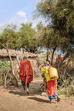 Kenia | White Mountain Movement 1 von Mariëlle de Valk