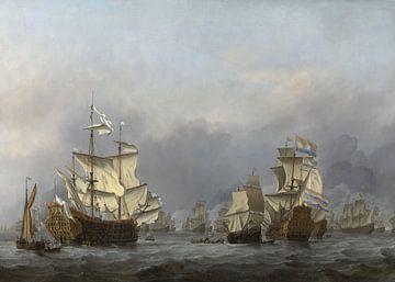 Die Übergabe des königlichen Prinzen - Willem van de Velde von Meesterlijcke Meesters