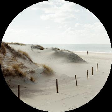 Strandzicht van Claire Droppert