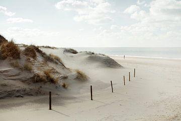 Blick auf den Strand von Claire Droppert