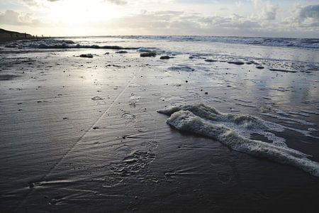 Texels strand november 1 Beach Texel van Malec Gebrek
