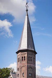 Kerktoren Sint Jacobuskerk, Kethel bij Schiedam van