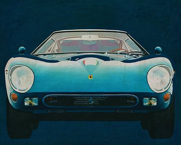 Ferrari 250GTO 1964 Voorkant van Jan Keteleer