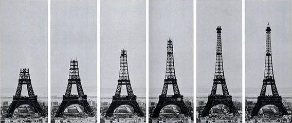 Eiffeltoren van Laurance Didden