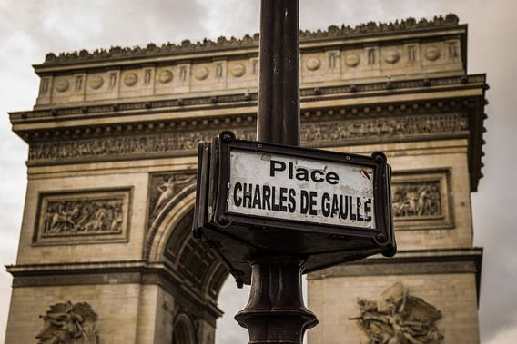 Parijs, Arc de Triomphe, Place Charles de Gaulle