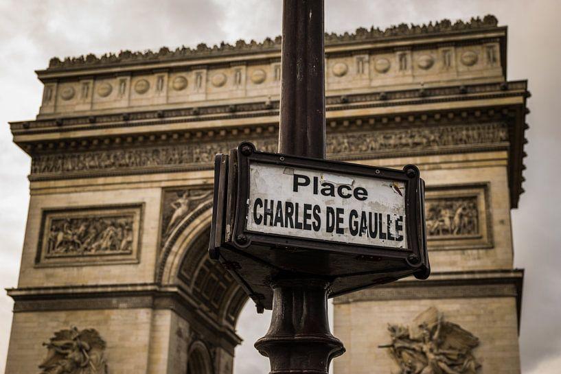 Paris, Arc de Triomphe, Place Charles de Gaulle. von Patrick Verhoef