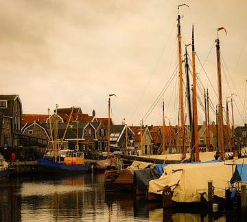 Der alte Fischereihafen der Spakenburg von Anita van Gendt