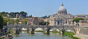 Le pont Emmanuel II - Roma van