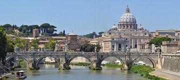 Le pont Emmanuel II - Roma