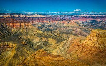 Prachtig uitzicht over de Grand Canyon vanaf de south rim van