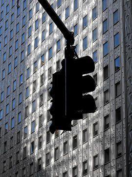 Stop (verkeerslicht Manhattan) van Jutta Klassen