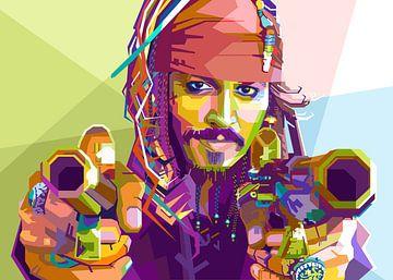 Johnny Depp sur zQheert