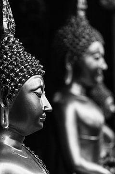 Gautama Boeddha van Aad Clemens