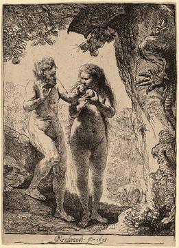Adam und Eva von Rembrandt van Rijn