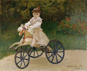 Jean Monet (1867-1913) op Zijn Paard van de Hobby, Claude Monet van Meesterlijcke Meesters