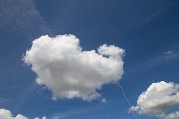 Wolken am Himmel von Peter Haastrecht, van