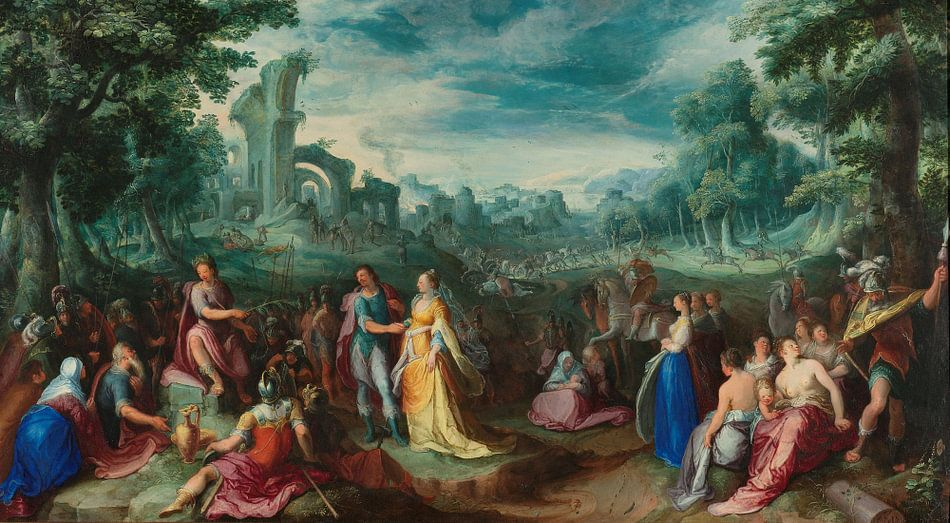 De grootmoedigheid van Scipio, Karel van Mander (I)