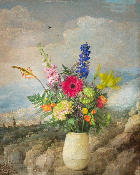 Klassiek bloementafereel van Joske Kempink